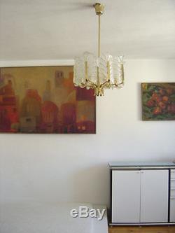 1/2 Mid Century Modern CARL FAGERLUND ORREFORS Pendant Lamp CHANDELIER Light 50s