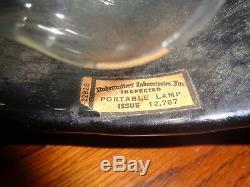 1950s Black Panther TV Lamp Mid Century Modern Vintage Ceramic Light Electric