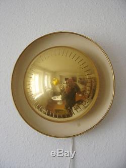 2x Mid Century Modern WALL LAMPS Ceiling Lights SARFATTI Stilnovo ERA 50/30cm