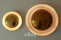 2x Mid Century Modern WALL LAMPS Ceiling Lights SARFATTI Stilnovo ERA 51/30cm