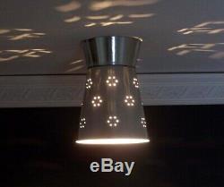 350b Vintage Ceiling Light Lamp Fixture mid-century sputnik eames atomic