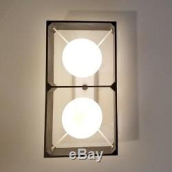 505 70s 80s Vintage Ceiling Light Lamp atomic midcentury eames retro sconce