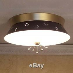 733b 60s 70s Vintage Ceiling Light Lamp Fixture atomic midcentury eames retro