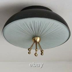 929b 50's Vintage Ceiling Light Lamp Fixture atomic mid-century eames Chandelier