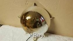 Bradford Xmas Celestrial Tree Topper Nativity Vtg Mid Century Motion Light