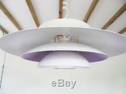 DANISH MODERN DESIGN Pendant Lamp light Mid Century, 60s 70s Henningsen style