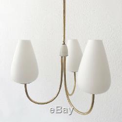 ELEGANT Mid Century Modern SPUTNIK 3-ARMED CHANDELIER Ceiling PENDANT LAMP Light