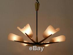 ELEGANT Mid Century Modern SPUTNIK 6-ARMED CHANDELIER Ceiling PENDANT LAMP Light