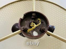Erco Mid Century ceiling Light lamp bakelit base 50s ceiling Atomic 60s vintage