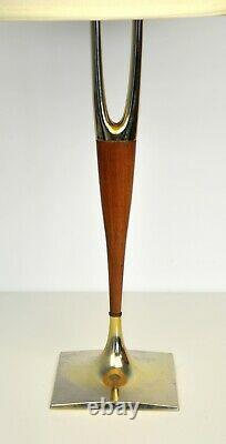 Gerald Thurston Laurel Wishbone Table Lamp Mid-Century Modern Vintage 1960s