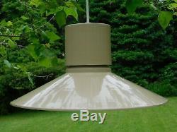 LIGHTOLIER Mid Century Modern Pendant Ceiling Lamp Light Gerald Thurston Hanging