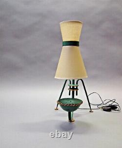 Lampe lamp 1950 maison lunel light french 50s mid century vintage