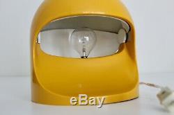 Lightolier Interplay Vtg Mid Century Modern Space Age Plastic Helmet Light Lamp