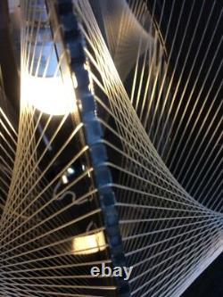 Lucite and Nylon Geometric Sculpture / Light Fixture Mid Century Modern