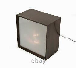 Lumia Lightolier Table Lamp Japan Kinetic Light Box Mid Century Modern