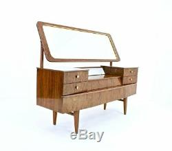 MID CENTURY VANITY FORMICA WITH LIGHT 1950s
