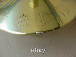 MID Century Modern Flying Saucer Chandelier Ceiling Light Atomic Age Space Age