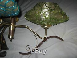 MID Century Retro Modern Spaghetti Lucite Globe Art Light Lamp Shade Chandelier