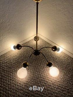 Mid Century Ceiling Lamp, Vintage Ceiling Lamp, Sputnik Lamp, 50s Ceiling Light