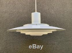 Mid Century Danish Modern Nordisk Solar Pendulum Light Fixture 27