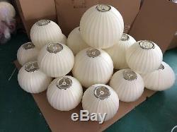Mid Century George Nelson Bubble lamp ball saucer cigar fabric replica