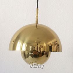 Mid Century Modern ARTELUCE Pendant Lamp LIGHT FLOWER POT Panton SARFATTI era