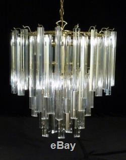 Mid Century Modern Brass EAMES ERA MODERNE Two Light LAMP Paavo Tynell era