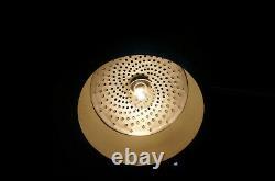Mid Century Modern Chrome Arc Floor Light Laurel Lamp Mfg Industrial Space Age