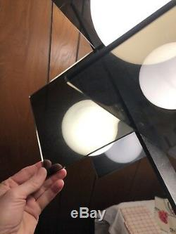 Mid century modern hanging light Retro Swag Orb Vtg Lamp 1970s POP Art