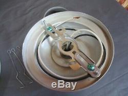Minimalist Mid-Century Modern Light Fixture Saturn Ring 3 Tier Saucer Prescolite