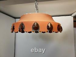 Moe Mid Century Modern Lancelot Flush Mount chandelier Cieling Light Fixture