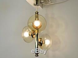 Murano Glass Sputnik Space Age Chandelier Ceiling Light Mid Century 1960s