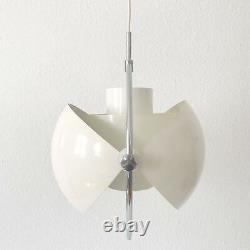 ORIGINAL Mid Century MULTI-LITE Pendant LIGHT by LOUIS WEISDORF for LYFA, 1974
