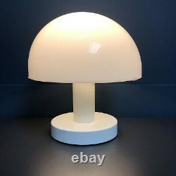 Original 70s Cosmo Mushroom Table Lamp Mid Century Retro Vintage Light White