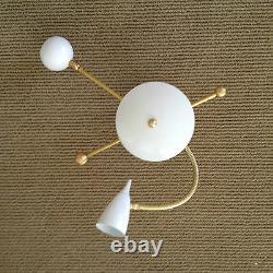 PAIR STILNOVO Eames GOOSENECK SCONCE- CEILING LAMP LIGHTS Arteluce MID CENTURY