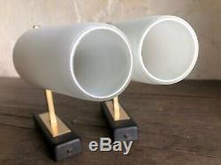 Pair of Mid-Century French 1950s Wall Lights. In The Style of Maison ARLUS