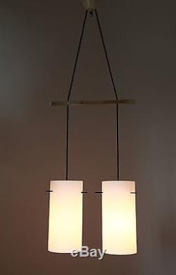 Pendant Lights Italy 1950s Pair Midcentury Deckenlampen Paar 50er 60er