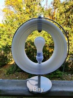 RARE Mid-Century/Danish Modern/Mid-MOD Verner Panton Style MOON LAMP Table Light