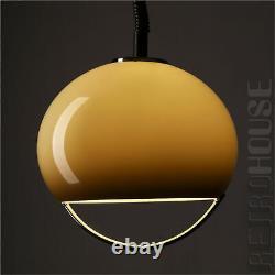 Rare Lamp Pendant Hanging Light by Harvey Guzzini Italy Mid-Century 60s 70s