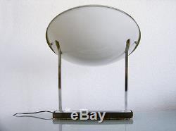 Rare METALARTE desk light lamp MID-CENTURY MODERN Arteluce SARFATTI Stilnovo ERA