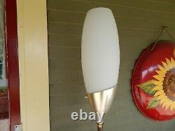 Rare Mid-Century Modern LAUREL LAMP CO Tulip FLOOR LAMP LIGHT Gorgeous Torchiere