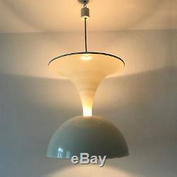 Rare XXL Mid Century DIABOLO Hanging Light PENDANT LAMP by ECOLIGHT Milano 1960s