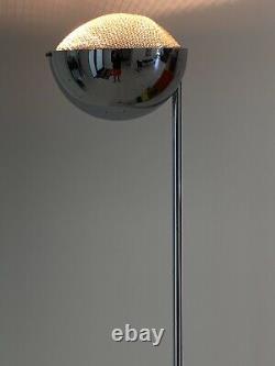 Robert Sonneman Torchiere Floor Lamp Vintage Light MCM Mid Century Modern