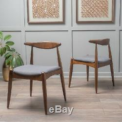 Sandra Mid Century Modern Dining Chairs (Set of 2)
