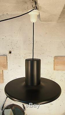 Small 19 Pendant Ceiling Light LITA Mid Century Black Fog Morup Industrial 1960