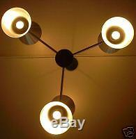 Spun Aluminum Cone Hang Light MID Century 50's Eames