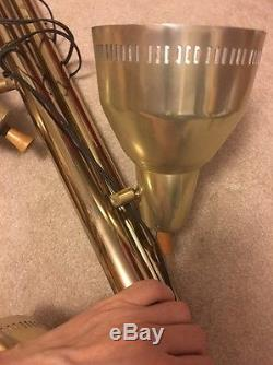 VTG MID CENTURY MODERN BULLET EAMES TENSION POLE LIGHT LAMP ATOMIC 60's SPUTNIK