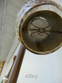 VTG Rando TENSION POLE FLOOR LAMP mid century modern light atomic