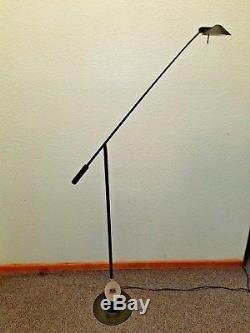 Vintage 1980's Robert Sonneman Kovacs Feather Floor Lamp MID Century Lighting