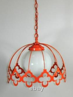 Vintage Ceiling Light Retro Mid Century Modern